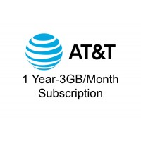1 year 3GB/month AT&T Data Package