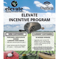 1 Year Service Plan for elevate Half Price Promo