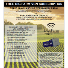 1 Year VBN Subscription (Free RTK Unlock Promotion)