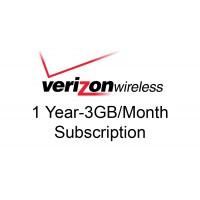 1 year 3GB/month Verizon Data Package