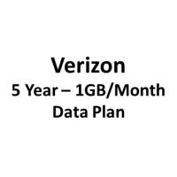 5 year 1GB/month Verizon Data Package